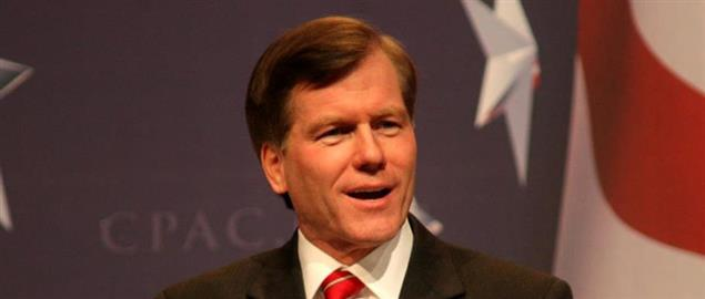 Virginia Governor Bob McDonnell speaking at the 2010 CPAC