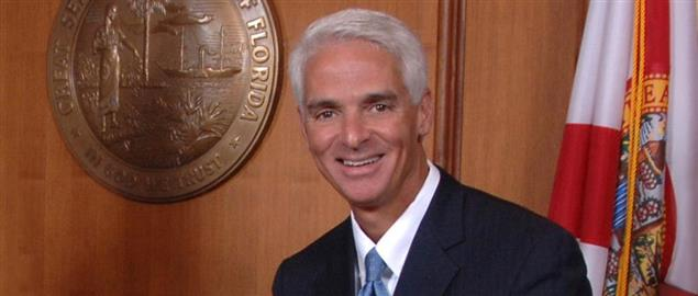 Official photo of Florida fomer Governor Charlie Crist