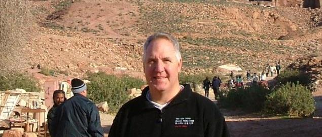 U.S. Rep. John Shimkus visits Amman, Jordan in January of 2005.