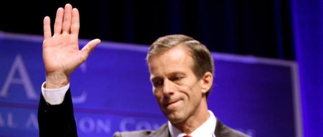 Senator John Thune of South Dakota speaking at CPAC 2011 in Washington, D.C.