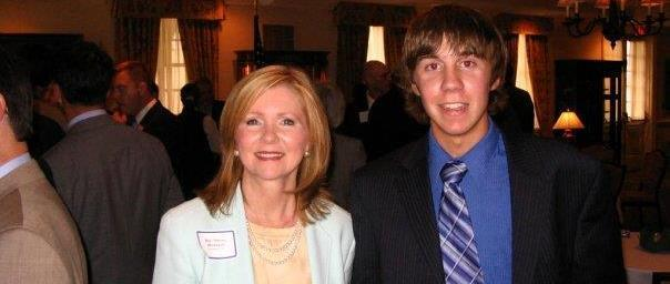 Tennessee Congresswoman Marsha Blackburn, with Daniel Tillson.