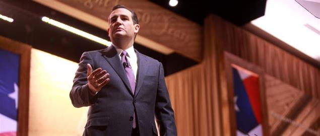 Senator Cruz speaking at the 2014 Conservative Political Action Conference