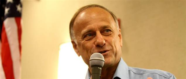 Steve King at an event in Ames, Iowa.